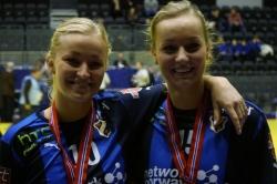 Søstrene Bredal Oftedal glade etter seier i juniorfinalen