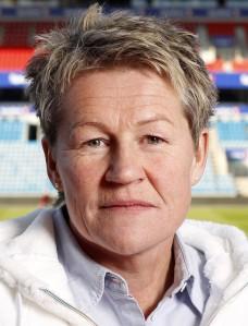 POSITIV: Heidi Støre er positiv til hva den svenske klubben har gjort. Foto: NFF/ fotball.no